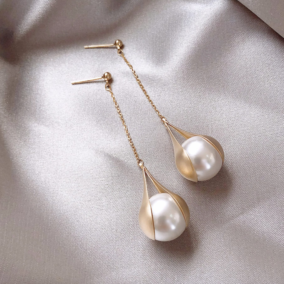 Dainte Pearl Earrings